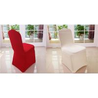 Spandex wedding banquet chair covers for sale colored