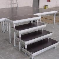 Buy cheap High Stability Stage Stair Made By Aluminum Tube And 18mm Plywood from wholesalers