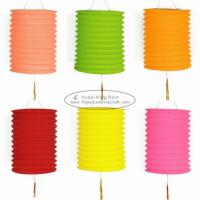 Wholesale 15 Cm Spring Garland Paper Lanterns Craft Diy Portable Handmade Christmas Ornaments from china suppliers