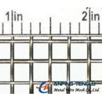 Wholesale SS, Cu, Al Material Single Intermediate Crimped Wire Mesh, 4Mesh 0.6-3mm Wire from china suppliers