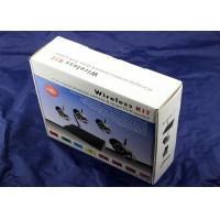China Professional Indoor Villa Surveillance 4 channel DVR security system 2.4G on sale