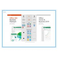 Wholesale Online Activation Microsoft Office 2019 Vision Home And Business Key Card English from china suppliers