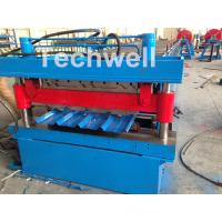 Wholesale Roof / Wall Panel Double Deck Roll Forming Machine , Double Layer Roll Former from china suppliers