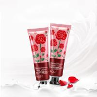 Wholesale Easy Carry Rose Hand Cream , Scented Hand Lotion Effectively Penetrate Skin from china suppliers