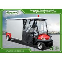 Wholesale Cusomize Red 48V Electric Ambulance Car 2 Passenger for hospital from china suppliers
