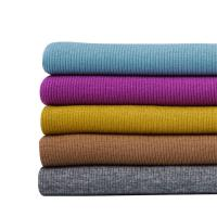 Wholesale Commonly Uses Knitted Rayon Spandex French Rib Fabric from china suppliers