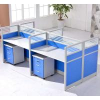 Wholesale Cusomized Wooden Material 4 Seats Office Desk Cubicle Multi Color Easy To Install from china suppliers