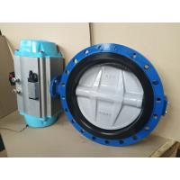 Wholesale Stainless Steel Pneumatic Butterfly Valve Flange Type For Pneumatic Actuator from china suppliers