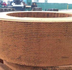 Quality Asbestos Free Brown Woven Brake Lining Windlass Tractor Blender Brake Lining for sale