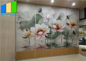 Wholesale Temporary Office Division Conference Room Folding Movable Partition Walls from china suppliers