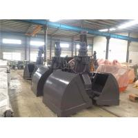 Wholesale Heavy Duty Excavator Grab Bucket , Clam Bucket For Excavator HARDOX+Q345 from china suppliers