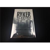 China Custom Triple Laminated Poly Pouches Printing Logo Back Seal Small Mylar Bags on sale