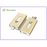 Wholesale Aluminum Alloy Compact 8GB USB Disk iflash Drive Mobile Phone OTG For PC from china suppliers