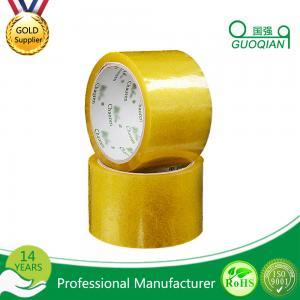 Carton Adhesive Transparent BOPP Packing Tape Customized 48mmx66mm Width