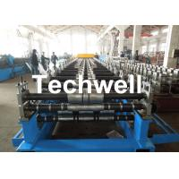 Wholesale Metal Roof Panel Roll Forming Machine / Double Layer Forming Machine With Hydraulic Cutting from china suppliers