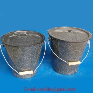 Wholesale Enamel Bucket,Enamel Pail,Metal Bucket from china suppliers