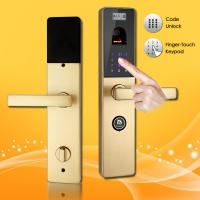Wholesale Finger-Touch Password and Biometric Fingerprint Door Lock with Handle Direction Reversible from china suppliers