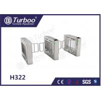 Stainless Steel Swing Barrier Gate , Turnstyle Automatic Gates With Card Reader