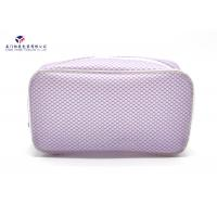 China Elegant Design Women Makeup Bag Promotional Soft PVC Bags Size 20cmX6cmX10cm on sale