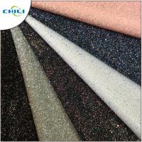 Wholesale Diamond Chunky Glitter Fabric Sheets Canvas Backing Anti Mildew Waterproof from china suppliers