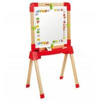 Wholesale Wooden Smoby Adjustable Easel from china suppliers