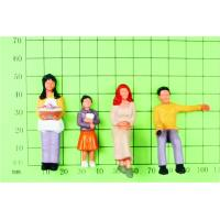 FP30-4 outdoor 1:30 Architectural Scale Model People Painted Figures 5.5cm Manufactures
