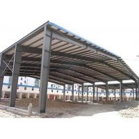 China Sugar Factory Steel Structure Workshop Hot Dip Galvanized Frame Construction on sale