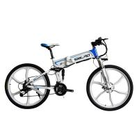 China Adult Electric Mountain Bicycles , Portable Folding Electric Bike CE Certificate on sale