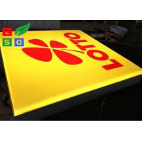 Wholesale Wall Mounted LED Outdoor Light Box , Silk Screen Printed Logo LED Advertising Signs from china suppliers