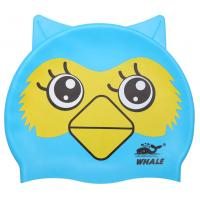 Fun Design Kids Silicone Swimming Caps Animal Shaped for Boys and Girls Aged 2-6