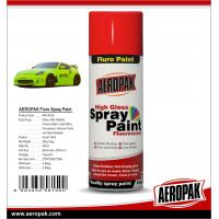 Wholesale AEROPAK 400ml Hot Sales Fast Dry Fluorescent Spray Paint  for Liquid Coating from china suppliers