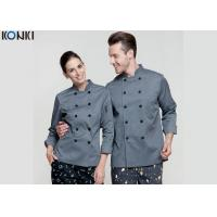 Wholesale Personalized Chef Cook Uniform Clothes , Slim Fit Double Breasted Suit from china suppliers