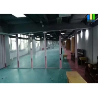 Wholesale Mirror Surface Soundproof Movable Panel Folding Partition Wall For Gym Dance Room from china suppliers