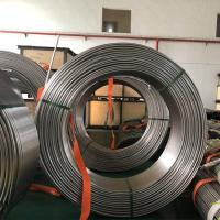 Wholesale 304 321 Stainless Steel Coil Tubing , Seamless Stainless Steel Capillary Tube from china suppliers