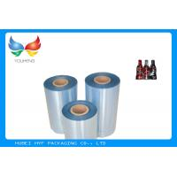 Security PET Shrink Film Rolls , Degradable Clear Plastic Film For Food Packaging