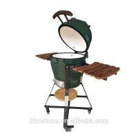 Wholesale Kimstone Kamado Ceramic Charcoal Grill Green Color For Outdoor Camping from china suppliers
