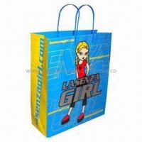 Wholesale Promotion paper shopping bag, fancy design, low price, Eco-friendly from china suppliers