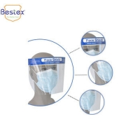 Wholesale 19cm Antiviral Face Shield from china suppliers