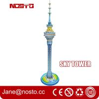Wholesale Sky tower children novelty toys 3d puzzle building diy assembly toys for kids from china suppliers