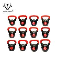 China Plastic Adjustable Cement Sand Kettlebell on sale