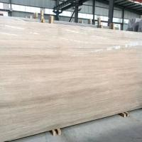 Wholesale Standard Size White Wooden Marble Slab 15-30mm Thickness For Indoor from china suppliers