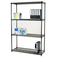 Wholesale Adjustable Open Commercial Wire Shelving Unit Environment 4 Layers from china suppliers