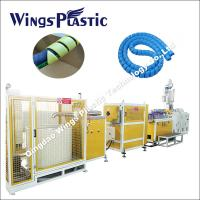 Wholesale PE PP PA Spiral Hose Guard / Spiral Protector Making Machine from china suppliers