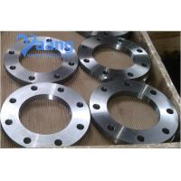 China ASTM Carbon steel forged plate flange on sale
