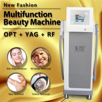 Wholesale SHR IPL RF Elight Q Switch Air Cooling Multifunctional Beauty Instrument from china suppliers