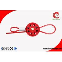 Wholesale Cheap 8 Hole Resistant ABS Wheel Type Cable Lockout multipurpose cable lockout Can be Customized from china suppliers