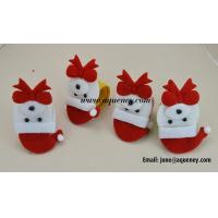 Wholesale Customized Father Christmas Silicone Slap Wristband for Promotional Gift from china suppliers