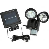 22LEDs Solar Powered Light Double Heads Wall Lamp Induction Detection PIR Motion Sensor Outdoor ...