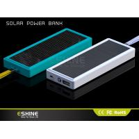 Wholesale Unique Solar Power Bank Charger,Universal Portable Power Bank for Mobile ,Solar Mobile Charger for Digital Products from china suppliers