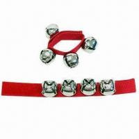Wholesale Jingle Bells Bracelet with Nice Finishing Touch and Full-mouthed Ringing from china suppliers